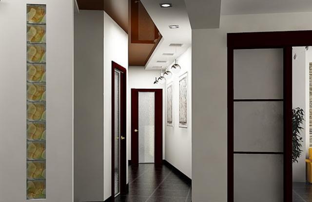 фото прихожая потолки
